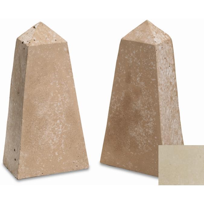 Geo Shapes   Ivory   Obelisk Set