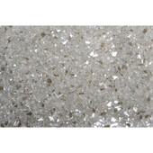 American Fireglass Platinum | 1/4-in Fire Glass | 1 lb