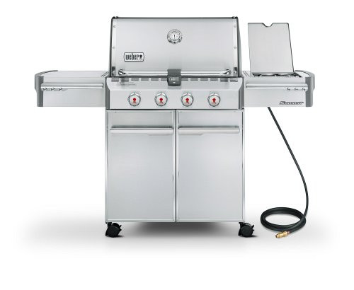 S-420 Weber Summit Stainless Steel Grill