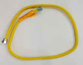 4 Foot Yellow 3/8 Hose