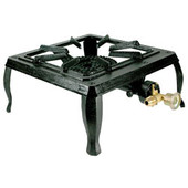 Single Burner Portable Cast Iron Camp Stove | SBCIS