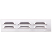 Outdoor Kitchen 6 Stainless Louver Vent Covers