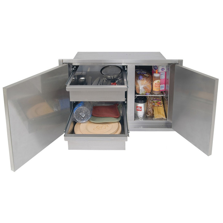 Alfresco 30-in High Profile Sealed Dry Storage Pantry