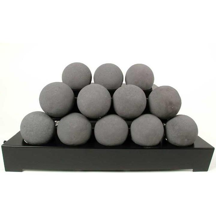 "24"" Alterna Black Vent Free FireBalls"