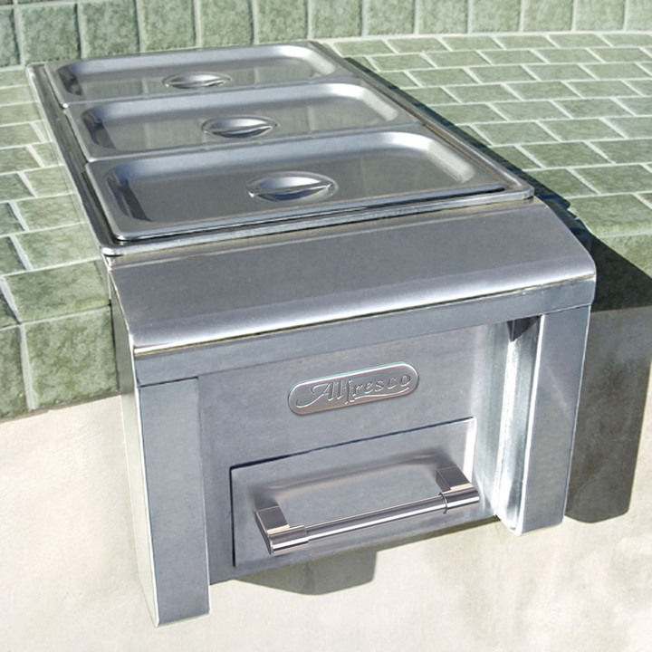 Alfresco Built In Stainless Steel Food Warmer - AXEFW