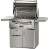 "Alfresco ALXE 30"" Grill on Deluxe Cart"