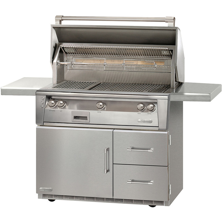 Alfresco Grill on Refrigerated Cart