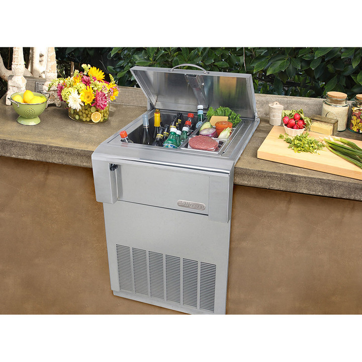 Alfresco Built in Counter Top Refrigerator