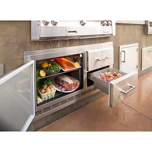 Alfresco Built-In Under Grill Refrigerator