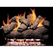 "18"" Royal English Oak Vented Gas Logs Only, No Burner"
