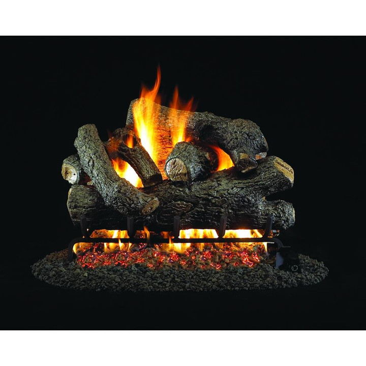 Royal English Oak Vented Gas Log Set