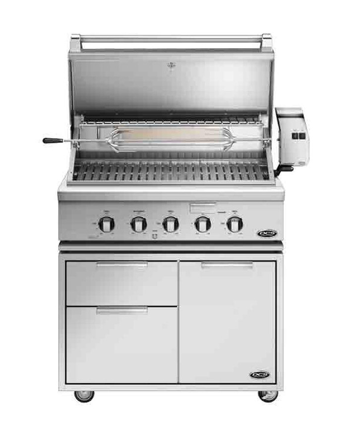 "DCS 36"" Propane Grill on Cart"