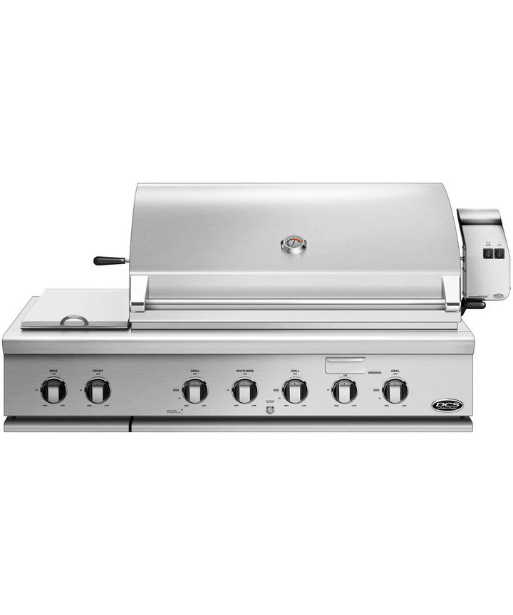 48 inch DCS grill head with integrated side burner