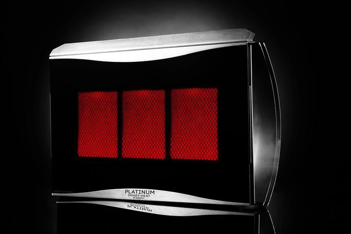 Bromic Heating Platinum Radiant Heater | 3 Burner