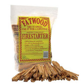 Fatwood in Plastic Bag