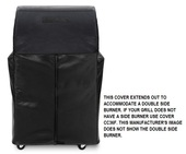 """Lynx 36"""" freestanding cover with sideburner"""