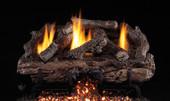Charred Aged Split Vent Free Gas Logs, G10 Burner