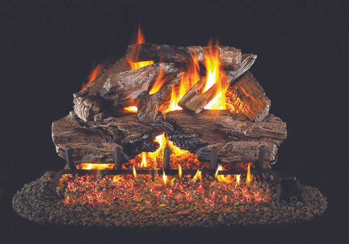 Real Fyre Charred Cedar Vented Gas Logs