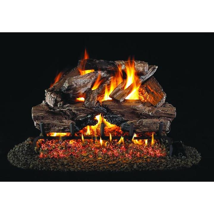 Real Fyre Charred Cedar Gas Log Set