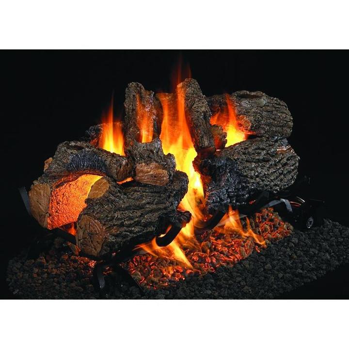 Charred Oak See-Thru Vented Log Set