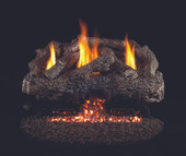 Charred Frontier Log Set