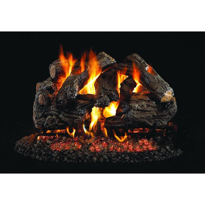 Burnt Heritage Oak Log Set