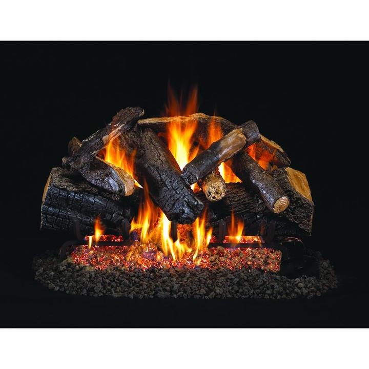 Charred Majestic Oak Vented Gas Log Set