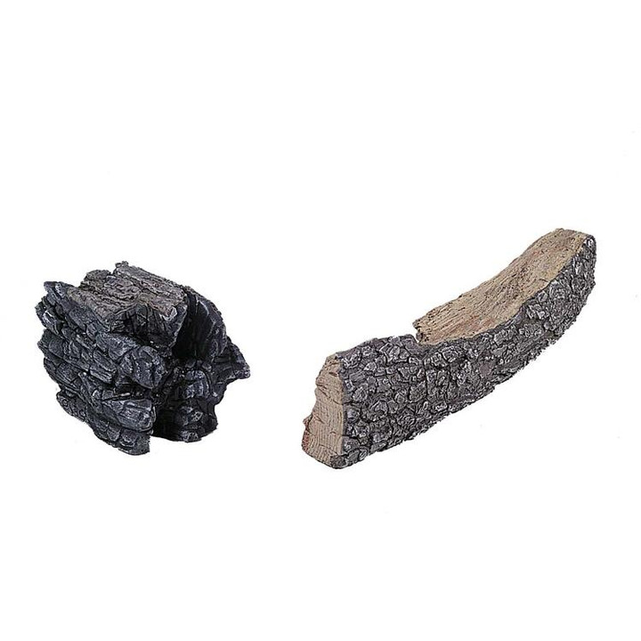 Rasmussen charred chunk accessory logs