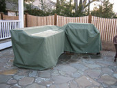 Custom BBQ Grill Island Covers