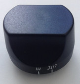 Charmglow, DCS Black Control Knob - 211043