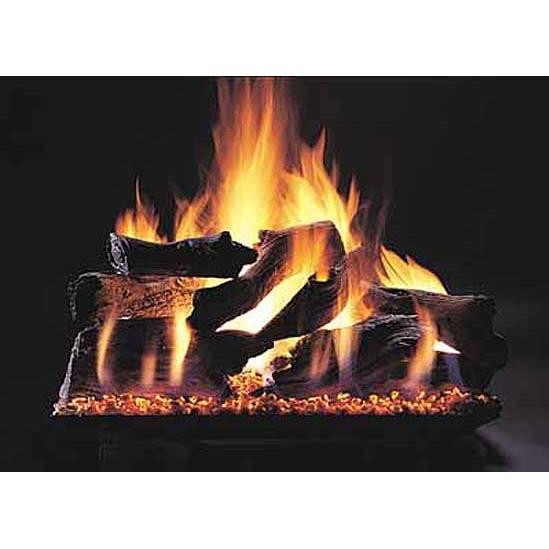"24"" Evening Campfire Double Face   Custom Embers Pan Burner"