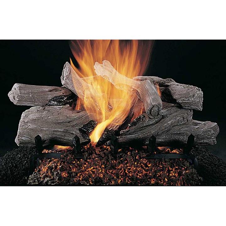 Evening Campfire Logs | Flaming Ember Burner