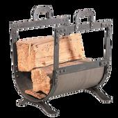 Old World Wood Holder   Forged Iron