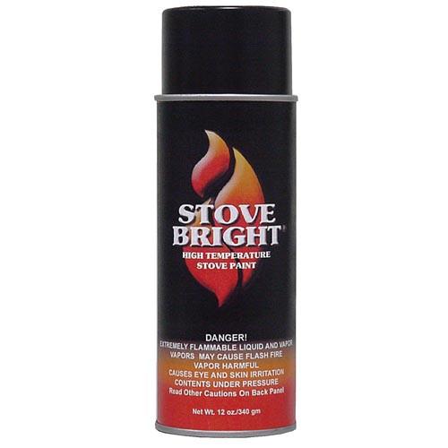 Stove Bright Black Paint