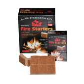 22/AW Perkins Break N Burn Fire Starter Squares - 288 Squares Total