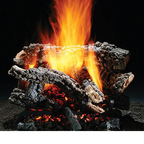 "24"" Canyon Wildfire Logs - For Outdoor Fireplaces - Logs"