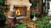 WRE 4500 Custom Series Outdoor Wood Burning Fireplace