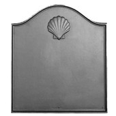 Georgian Shell Cast Iron Fireback