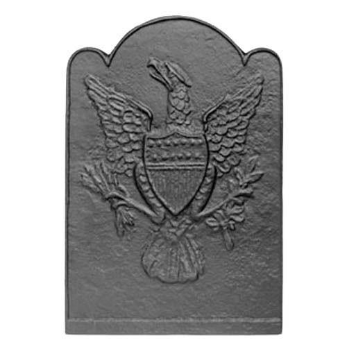 Eagle & Shield Patriot Cast Iron Fireback