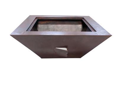 Sedona Copper Gas Fire Bowls