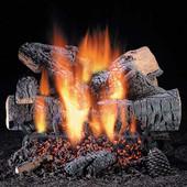 "Exclusive Windsor Premium Oak 24"" Vented Gas Log Set"