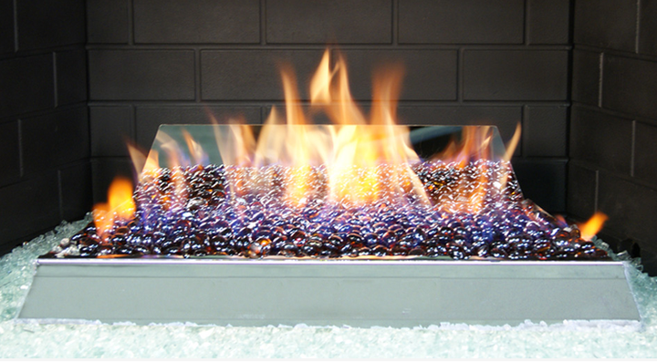 See-thru G21 Vent Free Glass Burner Set