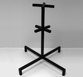 "Golden Blount 3/4"" Steel Stand"