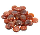 American Fyre 40 lb Deep Amber Glass Gems