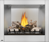 "Napoleon Riverside 36"" Outdoor Stainless Fireplace"
