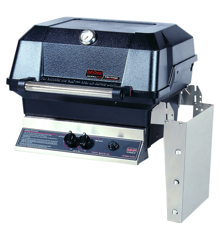 MHP JNR Gas Grill Head with 1 Stainless Shelf