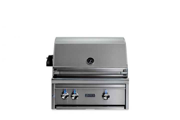 Lynx 27 inch built in grill with rotisserie