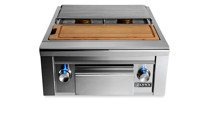 Lynx Built-in Double Side Burner with Prep Center