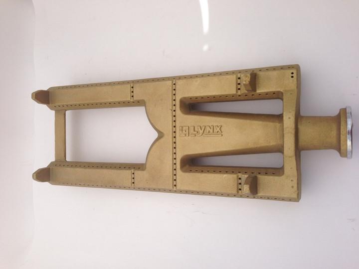 11012 H Ring Burner Brass 27, 36, 48