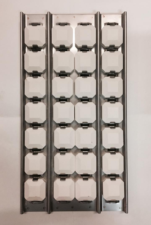 Lynx center briquette tray